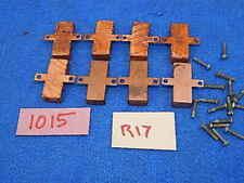 Wurlitzer 1015 BubbleTube Heater Resistor Termination Cover - 8 each - original