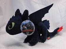 Dragons Drachenzähmen leicht gemacht Ohnezahn Toothless Plüschfigur XXL 37 cm !!