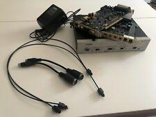 Fostex VC-8 ADAT interface + E-mu 1212m PCI audio/midi interface