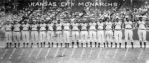 1942 Kansas City Monarchs - Negro League World Series Champs, 8x10 B&W Photo