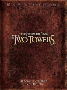 The Lord of the Rings DVD The Two Towers (Special Extended Edition) REGION 1 US