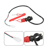 Universal Boat Outboard Engine Motor Kill Stop Switch Safety Tether Cord Lanyard