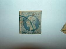 1859-61 HANOVER 2gr PRUSSIAN BLUE VFU (sg25) CV £65