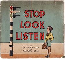 STOP LOOK LISTEN - KATHLEEN MELLOR & MARJORIE FISHER Australia c1940's