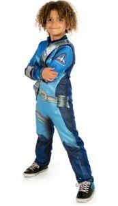 Thunderbirds are GO! Children's Costume Fancy Dress Scott Tracy 9-10