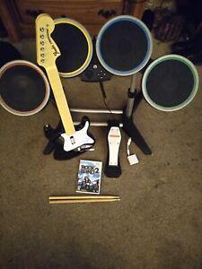 rock band 2 wii bundle