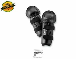 Thor Sector Motocross Protective Gear Dirt Bike Youth Knee Guard MX ATV Offroad