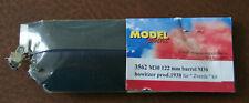 M-30 122MM HOWITZER METAL BARREL FOR ZVEZDA KIT - MODEL POINT 3562 1/35