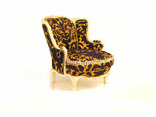 Take A Seat Collectible Miniature Chair Mrs. Vanderbilt'S Raine Vail Dollhouse