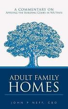 Adult Family Homes: A Commentary on Applying the Building Codes in Wa State (Pap