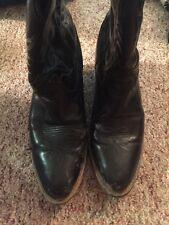 Laredo Womens Black Cowboy Boots 9.5
