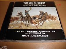 THE BIG COUNTRY soundtrack CD score JEROME MOROSS ost silva