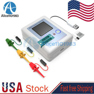 Multifunction Transistor Tester Diodes LCR - TC1 Full Color Graphics LCD Display