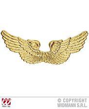 Angel Wings (Gold Plastic) - Kids Accessory WIDMANN