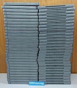 Lote de 57 Cajas Blu Ray plateadas, originales playstation 3 platinum.