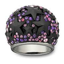 Swarovski  Fizz   ring   52     New   1024557