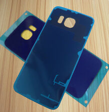 Blue Battery Cover Back Rear Back Cover Glass for Samsung Galaxy S6/SM-G920