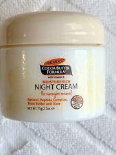 Palmer's Cocoa Butter Formula Moisture Rich Night Cream, 2.70 oz NEW in box