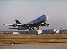 LUFTHANSA CARGO BOEING 747-200F LARGE OFFICIAL PHOTO LH GERMANY