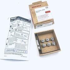 Yakima 07206 Sks Locks Fits All Lockable Accessories, Pack Of 6
