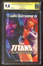 SS CGC 9.8 Tales from the Dark Multiverse: The Judas Contract # 1 Artgerm Signed