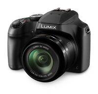 Panasonic Lumix DC-FZ82EB-K Digital Bridge Camera 18.1MP, 60X Optical Zoom