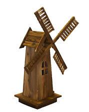Wooden Dutch Windmill Back Yard Decorations - Classic Old-fashioned Windmill