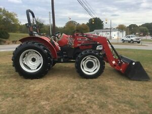 Very Nice Case IH Farmall 70A 4X4 Loader Tractor with Only 624 Hours