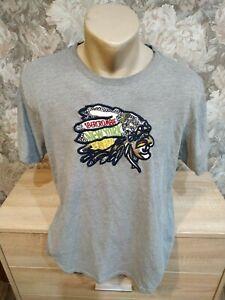 Abercrombie &Fitcht Men's t-shirts size-L gray color