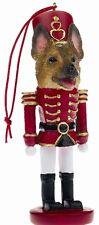 GERMAN SHEPHERD  ~ NUTCRACKER   SOLDIER DOG ORNAMENT #75