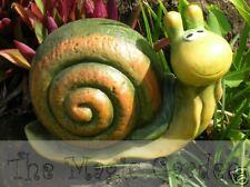 Large garden snail concrete cement plaster garden ornament latex moulds molds