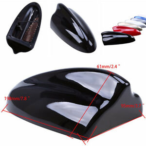 Auto Car Black Shark Fin Style Roof Decorate Antenna Radio FM/AM Signal Aerial