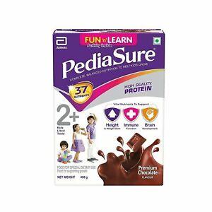 PediaSure Premium Chocolate - 400 Gm For Kids 2 yrs To 10 yrs//Long expiry