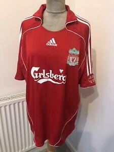 Adidas Liverpool Carlsberg Shirt Jersey No 8 Gerrard  size XL