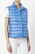 $600 Moncler Liane down-filled gilet Vest With Pouch Sz 3 MED Current Collection