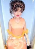 Franklin Mint The Jackie Doll Jaqueline Kennedy India Visit Vinyl Doll Box MIB