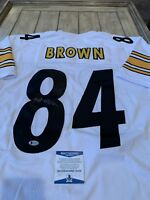 Antonio Brown Autographed/Signed Jersey COA Pittsburgh Steelers Future HOF