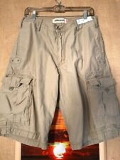 Levi's Workwear cargo men's shorts size W31 inseam 11.5 solid brown zipper fly f
