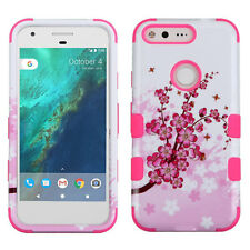 For Google PIXEL & XL IMPACT TUFF HYBRID Armor Protective Case Skin Phone Cover