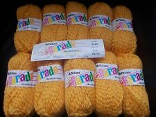 Vintage Patons Parade Wool Rich Chunky 500g  Egg Yolk Yellow (2 lots available)