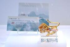 Swarovski Chinese Zodiac Limited Edition Tiger Gold 1016810 Brand New In Box