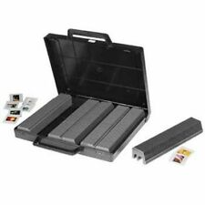 Two Hama 6x50 Slide Magazines Storage Case Universal Magazine Briefcase - 001090