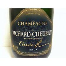 6 BT CHAMPAGNE  BRUT H RICHARD CHEURLIN - Celles sur Ource