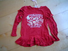 WI 13/14 -pampolina DANCE ACADEMY camisa túnica, rojo oscuro Talla:98