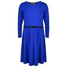 Abbigliamento blu manica 3/4 per bambine dai 2 ai 16 anni