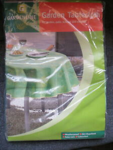 garden tablecloth cover weatherproof,dirt repellent,easy care, 130 x 180cm new