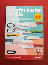"""PENNY Treueaktion  """" Scharfes Design für alle """" zyliss Artikel --- Volles Sammel"""
