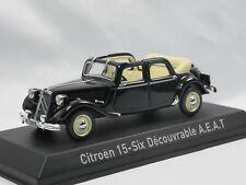 Norev 153022 1951 Citroen Traction Avant 15/6 Decouvrable Cabriolimousine 1:43