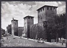 VERONA CITTÀ 170 CASTELLO Cartolina FOTOGRAFICA