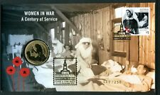 """2017 Women in War FDC/PNC O/P """"Remembrance Day""""at Brisbane Stamp Show 169/250"""